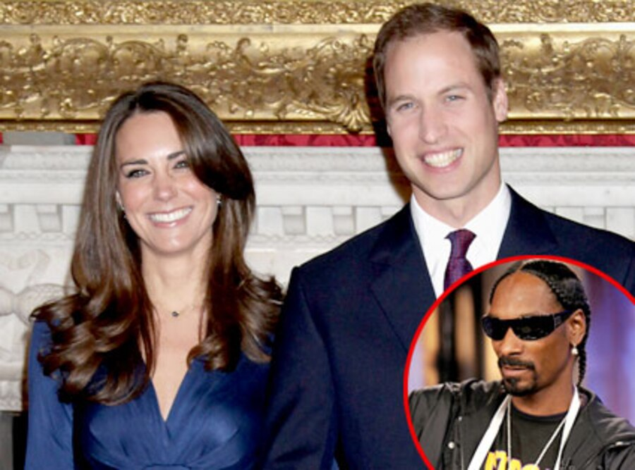 Prince William, Kate Middleton, Snoop Dogg