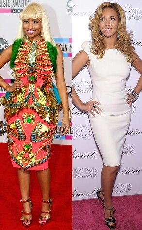 Nicki Minaj, Beyonce Knowles