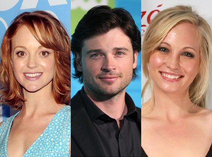 Candice Accola, Tom Welling, Jayma Mays