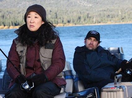 Grey's Anatomy, Sandra Oh, Patrick Dempsey