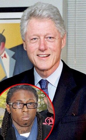 Bill Clinton, Lil Wayne