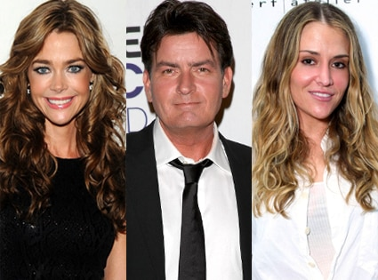 Denise Richards, Charlie Sheen, Brooke Mueller