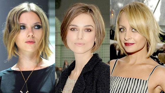 Scarlett Johansson, Keira Knightley, Nicole Richie
