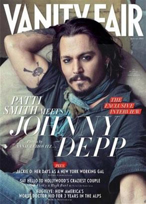 Johnny Depp, Vanity Fair Cover