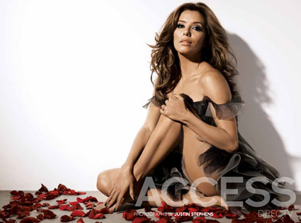 Eva Longoria, accessdirectv magazine