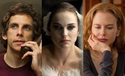 Natalie Portman, Black Swan, Ben Stiller, Greenberg, Nicole Kidman, Rabbit Hole