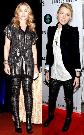 Madonna, Blake Lively