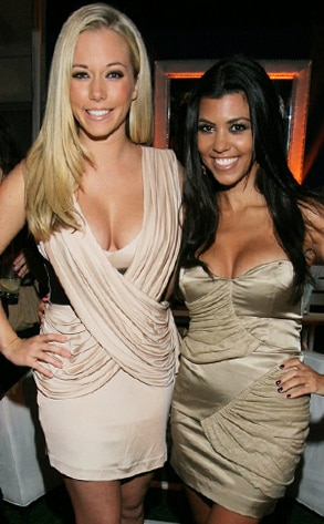 Kendra Wilkinson-Baskett, Kourtney Kardashian, CEG TCA Party
