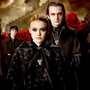 Dakota Fanning, Michael Sheen, Twilight: New Moon Poster