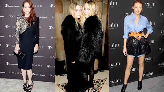 Julianne Moore, Ashley Olsen, Mary-Kate Olsen, Blake Lively