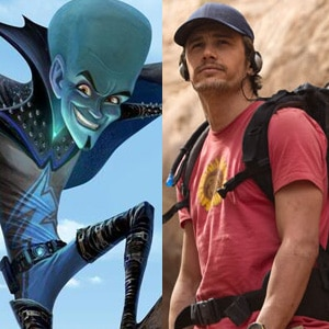 127 Hours, James Franco, Megamind