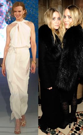 Nicole Kidman, Mary-Kate Olsen, Ashely Olsen