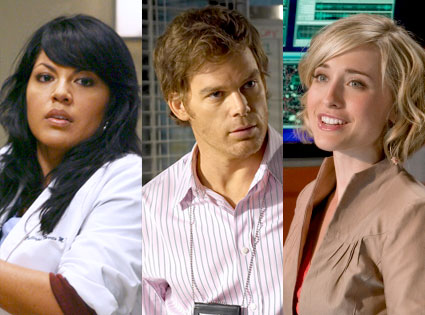 Sara Ramirez, Grey's Anatomy, Michael C. Hall, Dexter, Allison Mack, Smallville