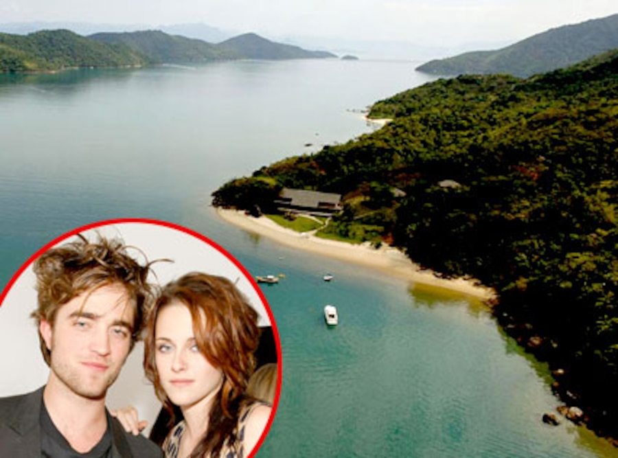 Robert Pattinson, Kristen Stewart, Breaking Dawn Location