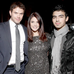 Kellan Lutz, Ashley Greene, Joe Jonas