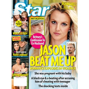 Star Magazine Cover, Britney Spears