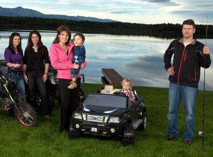 Todd Palin, Bristol Palin, Sarah Palin