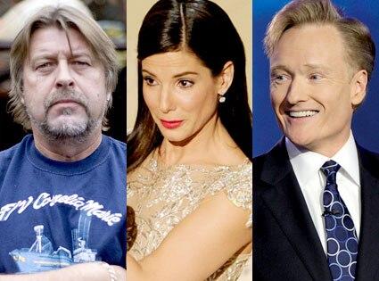 Phil Harris, Sandra Bullock, Conan OBrien