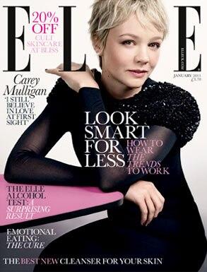 Carey Mulligan, Elle UK Cover