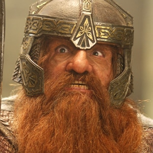 John Rhys-Davies, Gimli, Lord of the Rings