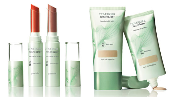 Covergirl Natureluxe Gloss Balm, Covergirl Natureluxe Foundation