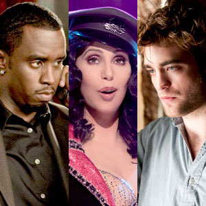 Diddy, Get Him to the Greek, Cher, Burlesque, Robert Pattinson, Remember Me