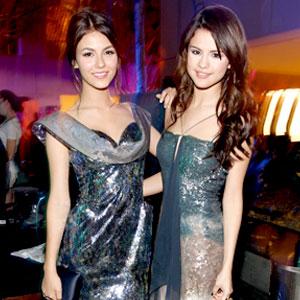 Victoria Justice, Selena Gomez
