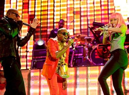 Jay-Z, Kanye West, Nicki Minaj