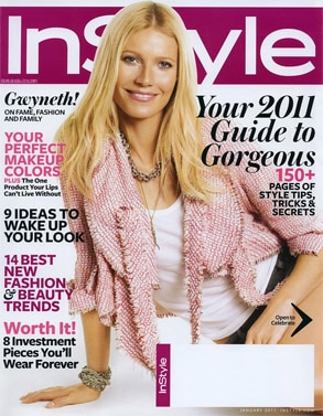 Gwyneth Paltrow, Instyle Cover