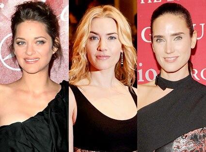 Marion Cotillard, Kate Winslet, Jennifer Connelly