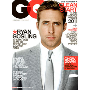 Ryan Gosling, GQ Cover
