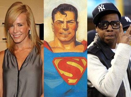 Chelsea Hander, Superman, Jay-Z