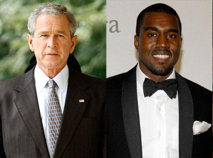 George Bush, Kanye West