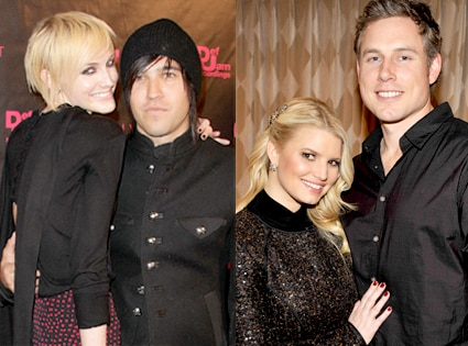Pete Wentz, Ashlee Simpson Wentz, Jessica Simpson, Eric Johnson