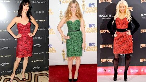 Juliet Lewis, Scarlett Johansson, Christina Aguilera