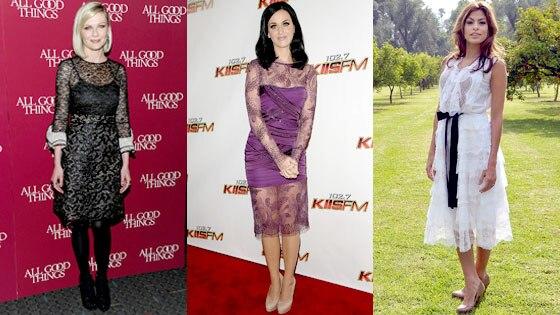 Kirsten Dunst, Katy Perry, Eva Mendes