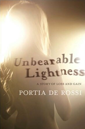 Portia DiRossi book, Unbearable Lightness
