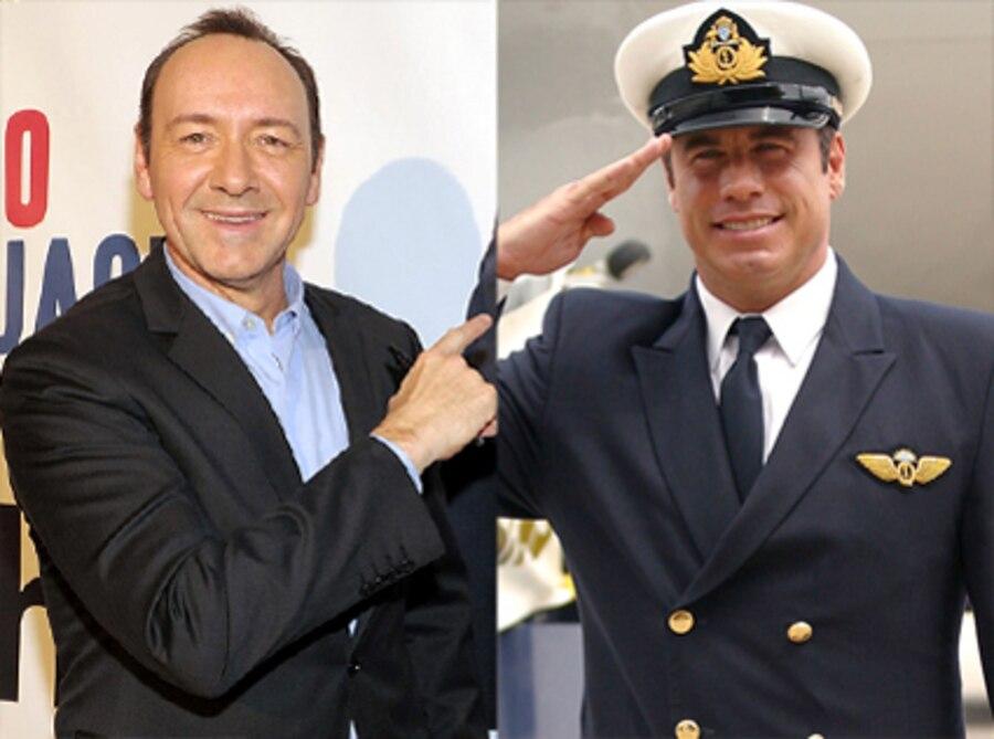 Kevin Spacey, John Travolta