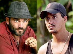 Survivor, Russell Hantz, Rob Mariano