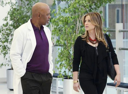Greys Anatomy, Jessica Capshaw, James Pickens Jr.