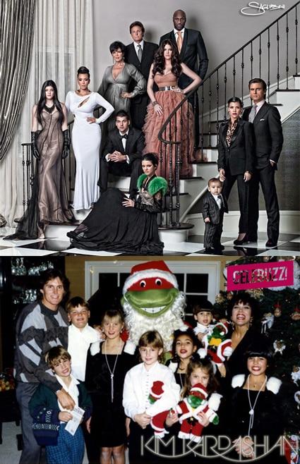 Kardashian, Jenner Family Christmas photos