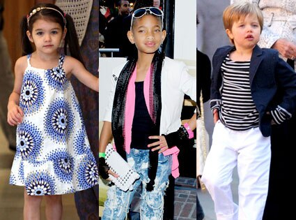 Suri Cruise, Willow Smith, Shiloh Jolie-Pitt