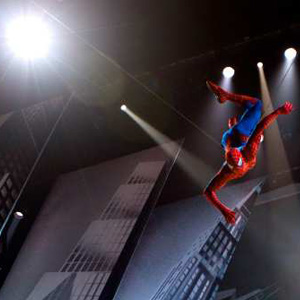 Spider-Man: Turn Off the Dark stage show 300/gallery