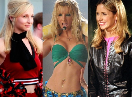 Heather Morris, Sarah Michelle Gellar, Candice Accola