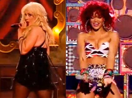 Christina Aguilera, Rihanna