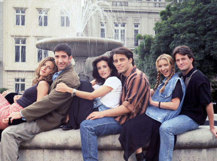 Friends, Jennifer Anniston, David Schwimmer, Courteney Cox, Matt LeBlanc, Lisa Kudrow, Matthew Perry