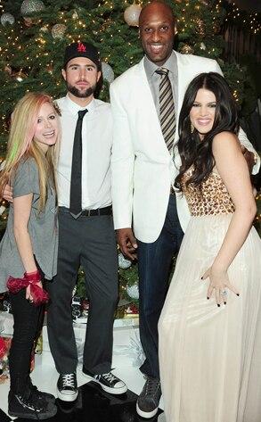 Avril Lavigne, Brody Jenner, Lamar Odom, Khloe Kardashian Odom