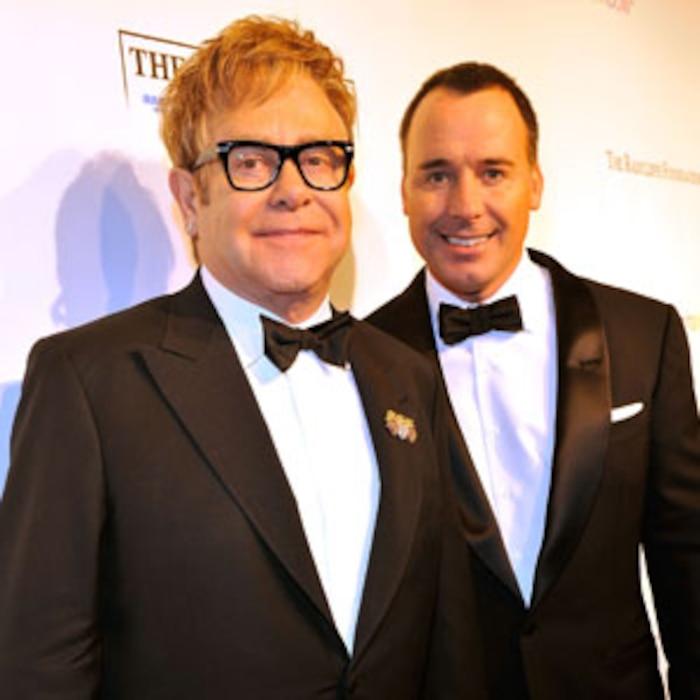 Sir Elton John, David Furnish