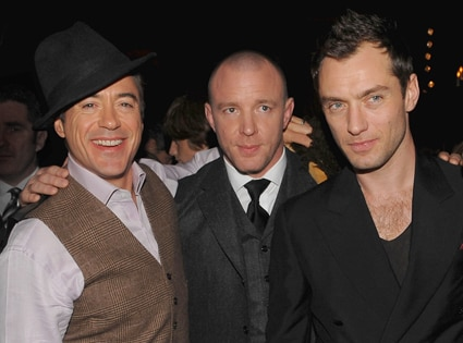 Robert Downey Jr., Guy Ritchie, Jude Law