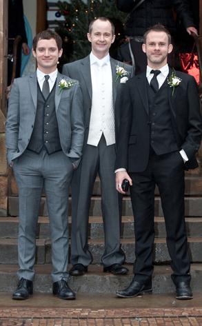 Billy Boyd, Elijah Wood, Dominic Monaghan